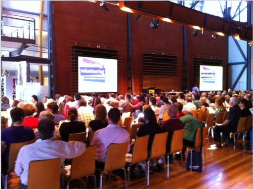 Photo taken of particpants attending the State Volunteers Congress at the National Wine Centre in Adelaide