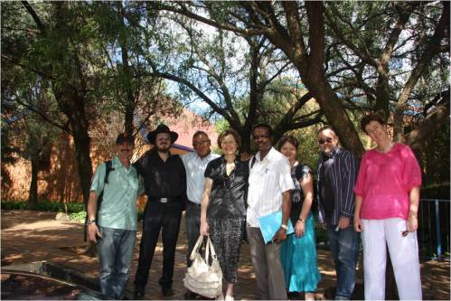 Research Team in South Africa