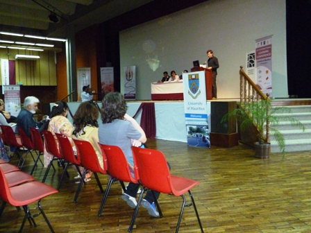 Conference presentations at the University of Mauritius