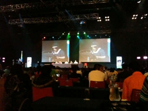 Opening Ceremony at the DPI Assembly, Durban on the 10th October, 2011