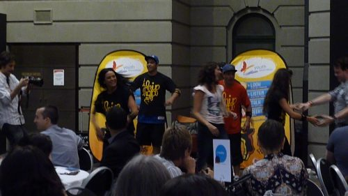 Young and Well CRC gathering at the State Library of Victoria on the 9th December 2011