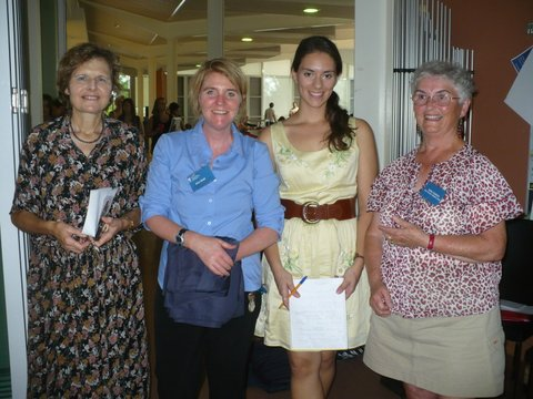 Denise, Alice and guests at the SOCE community event held on the 14th March 2012