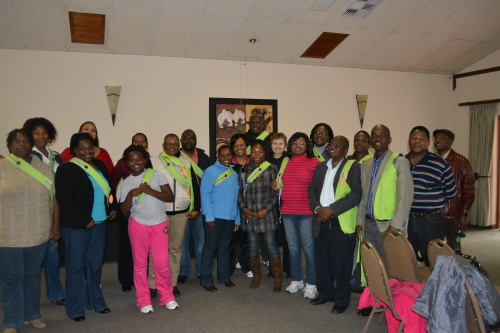 Group photo taken on final day of the training workshop conducted in Tzaneen