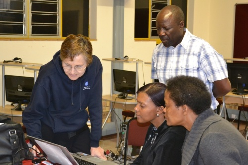 Teacher training conducted at New Horizons Special School in Polokwane, South Africa