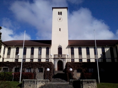 Rhodes University, Grahamstown, South Africa where the Higher Education Close-up Conference was held from 11-13th July 2012