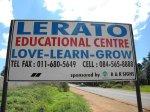 Lerato educational centre for children from Jackson's Drift informal settlement in Eickenoff