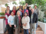 Participants at the Mont Fleur writing workshop in October