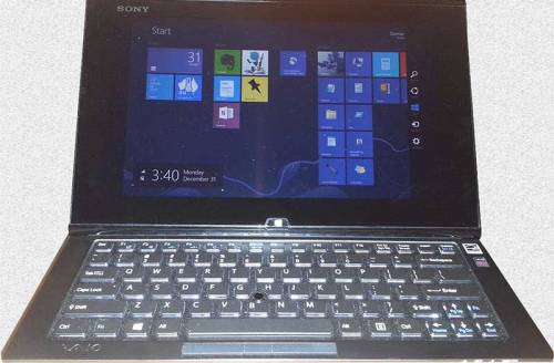 Sony Vaio duo hybrid computer/tablet